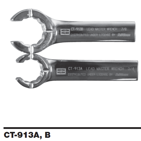 Lead-Master Wrenches CT-913A-B