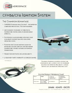thumbnail of Data Sheet CFM56 and CF6 Ignition System Mar 2017