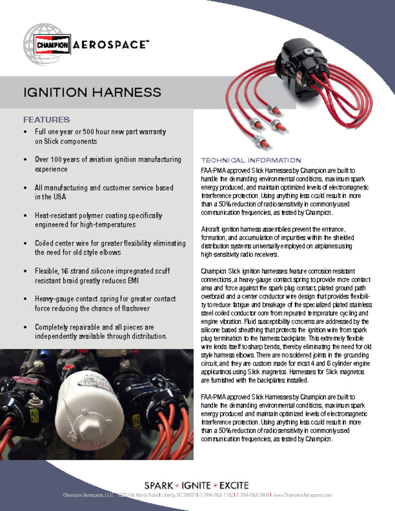 Champion cls003/Ignition Cable